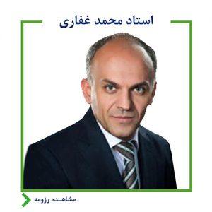 استاد محمد غفاری
